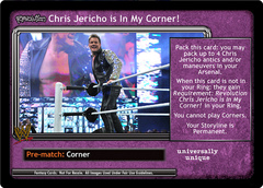 <i>Revolution</i> Chris Jericho is In My Corner!